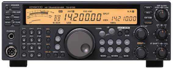 Kenwood Ts 570d G Hf Transceiver Hardsoft Products