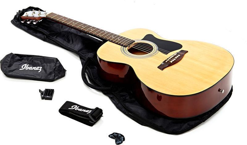 Ibanez vc50njp nt kit chitarra acustica hardsoft products