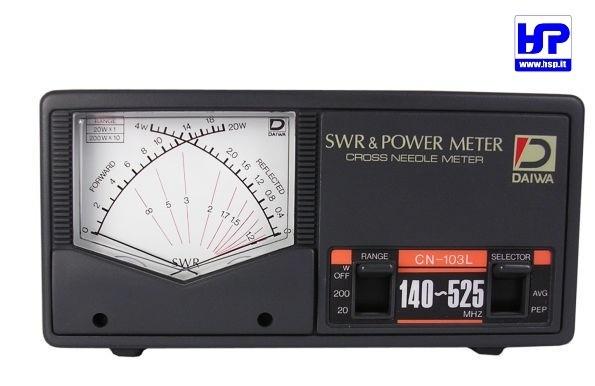 DAIWA - CN-103LN - VHF/UHF POWER/SWR METER