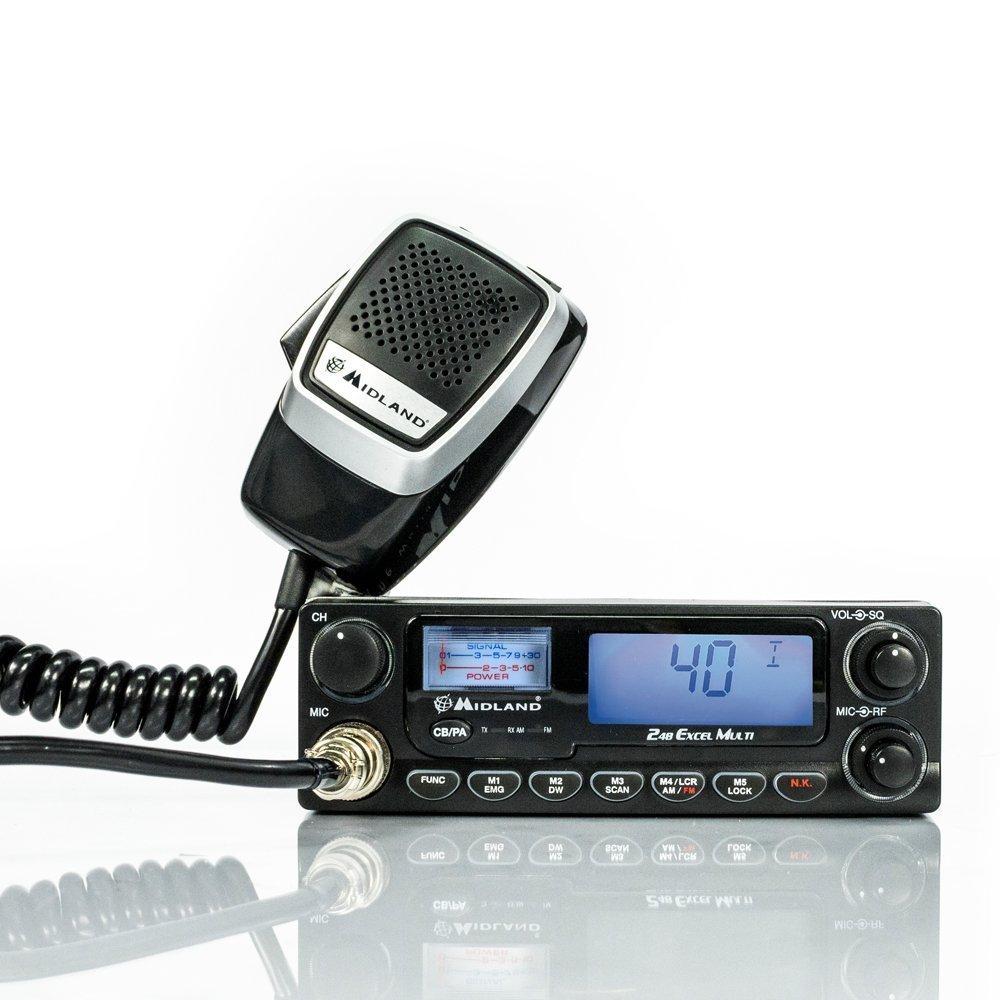 Schemi Elettrici Radio Cb : Midland alan xl multi cb multistandard hardsoft products