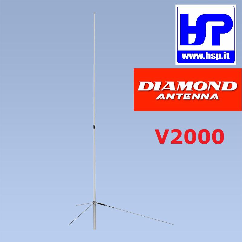 DIAMOND - V2000 - 50/144/430 MHz ANTENNA