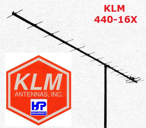 KLM - 440-16X - 16 ELEMENTS 420-450 MHz