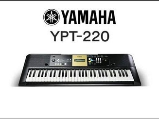 YPT-220 YAMAHA - Electronic Keyboard