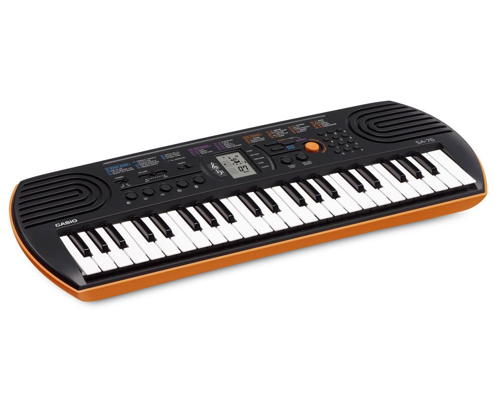 CASIO - SA-76 - MINI 44-KEYS KEYBOARD
