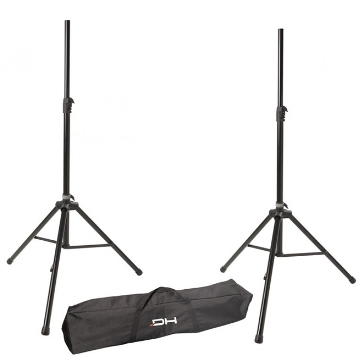 DHSS50KIT - 2 PROFESSIONAL MUSIC STANDS + BAG