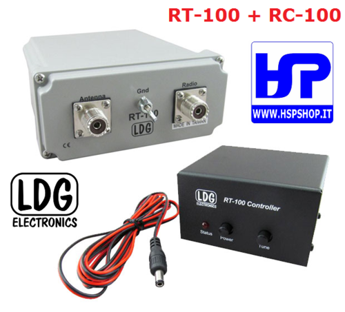 LDG - RT-100 - External Automatic Tuner
