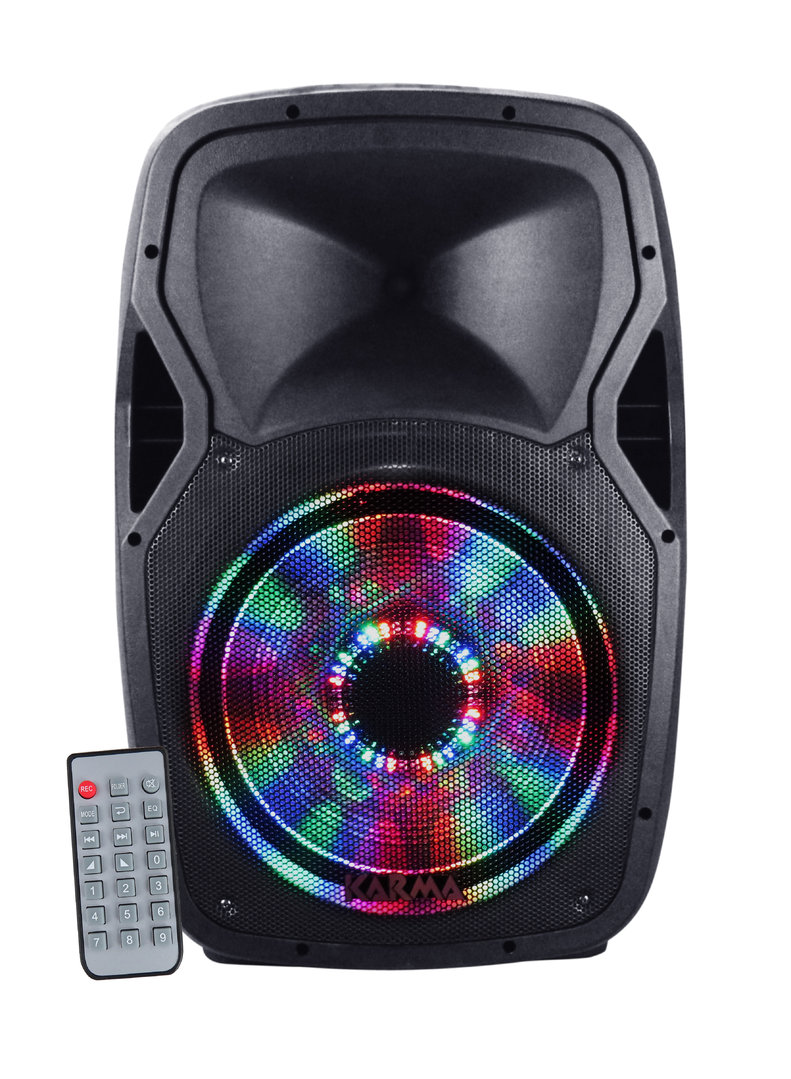 BX 6212LED Active speaker 300W, LED, USB, BT