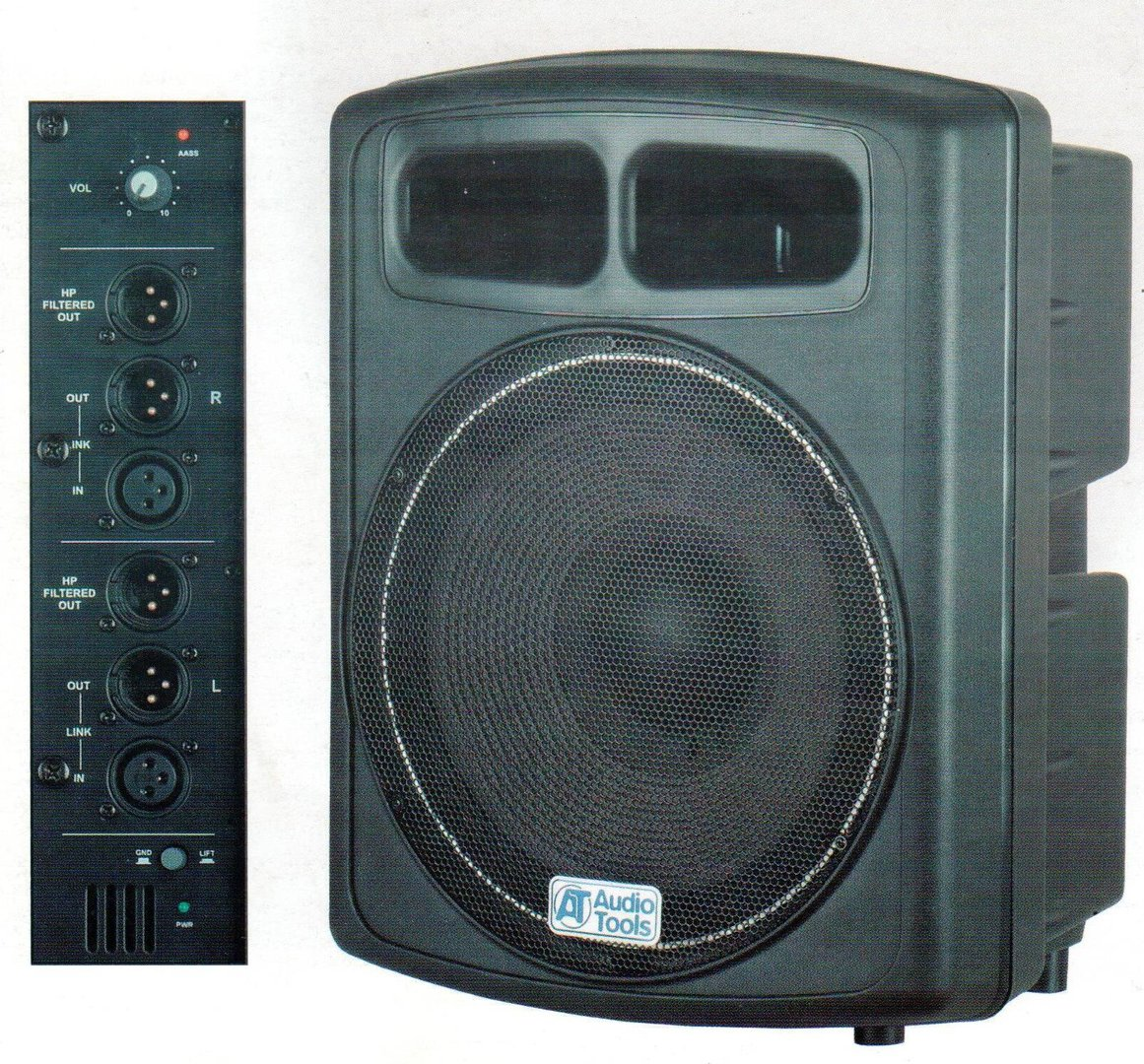 AS151A - AUDIO TOOLS - SUBWOOFER ATTIVO 600W 15""