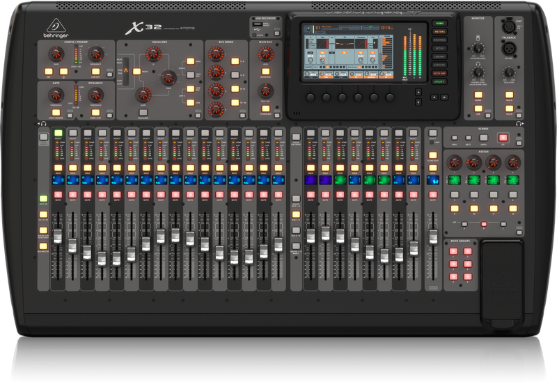 X32 -BEHRINGER-  MIXER DIGITALE 40 INGRESSI