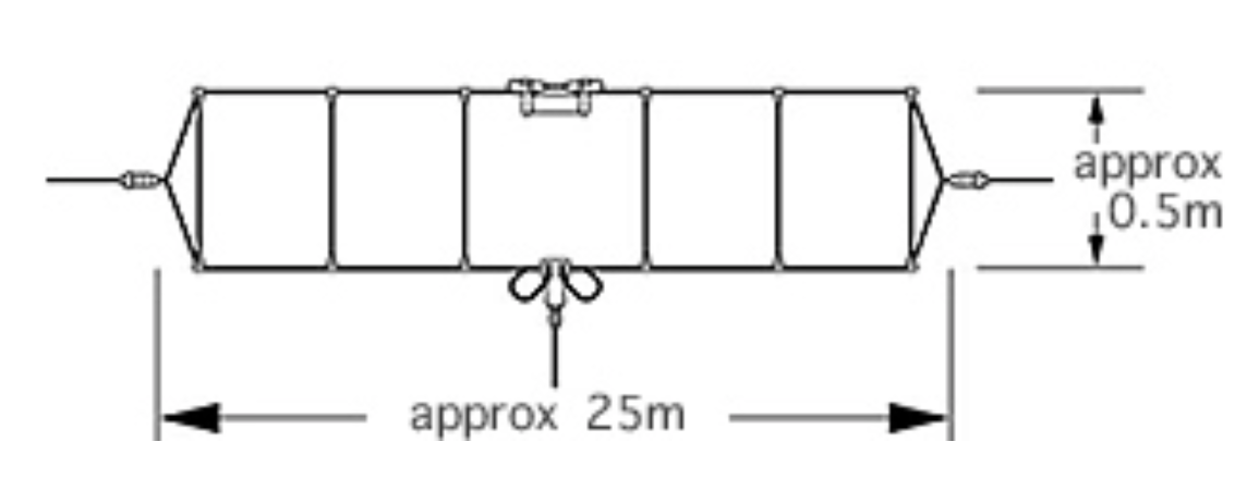 DIAMOND - WD-330 - ANTENNA WIDE BAND 2-30 MHz