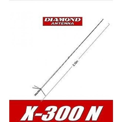 DIAMOND - X300N - BASE ANTENNA 144 / UHF MHz