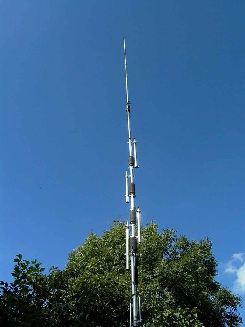 HY-GAIN - DX-88 - ANTENNA 8 BANDE 10-80 m.