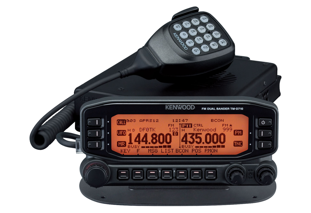 KENWOOD - TM-D710E - RTX VHF/UHF WITH APRS