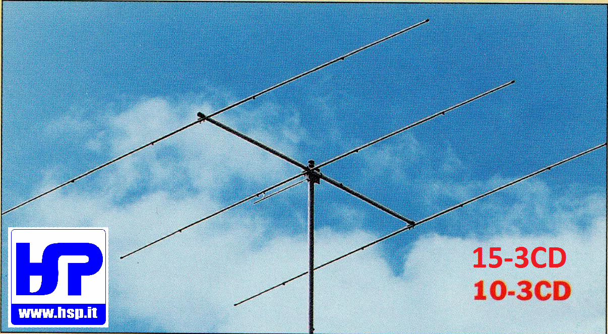 CUSHCRAFT - 10-3CD - 3 EL. YAGI PER 10 METRI