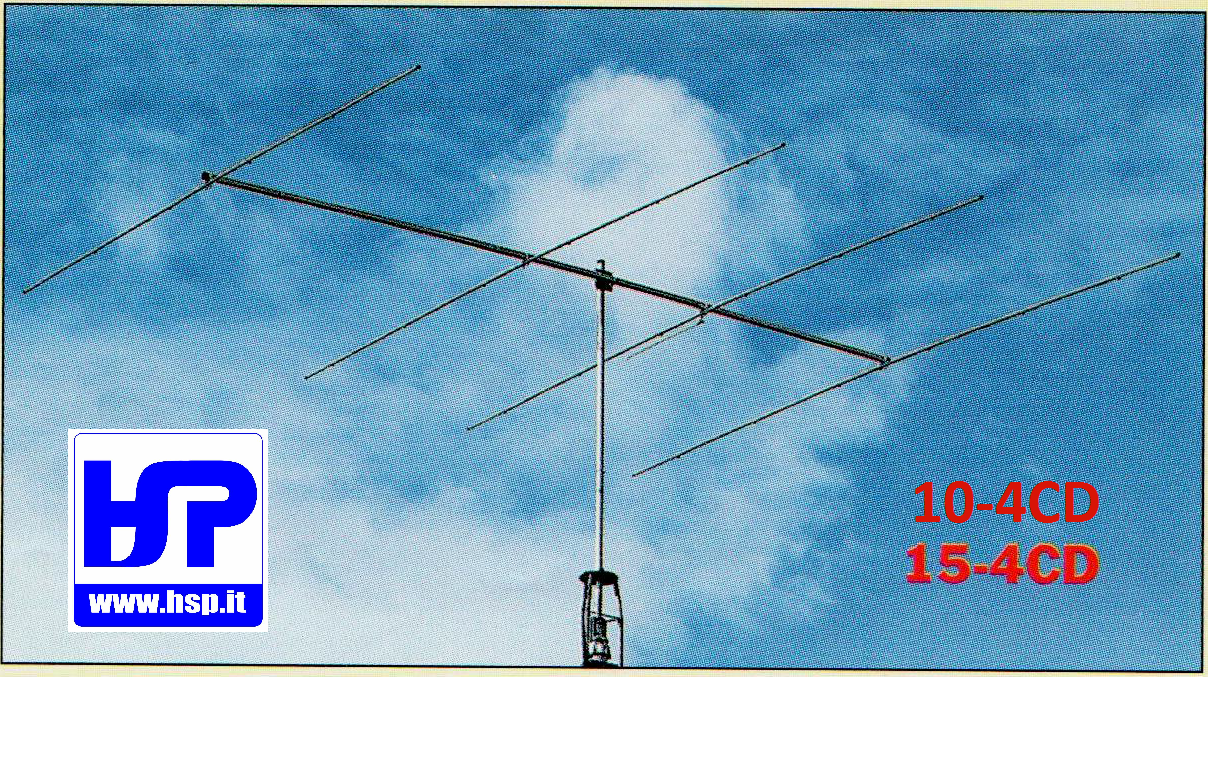 CUSHCRAFT - 15-4CD - 4 EL. YAGI PER 15 METRI