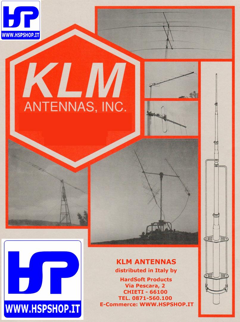 KLM - 20M-5 - 5 ELEMENT MONOBAND 20 METERS - HardSoft Products