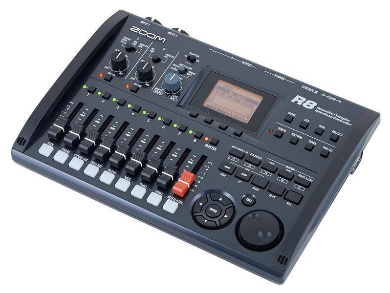 zoom r8 multi track digital recorder hardsoft products. Black Bedroom Furniture Sets. Home Design Ideas