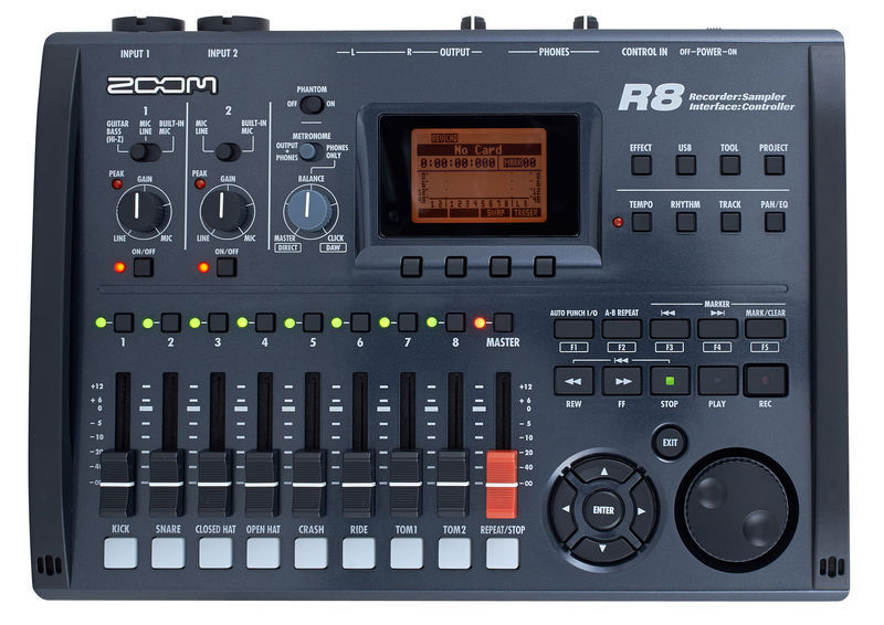 ZOOM - R8 - MULTI-TRACK DIGITAL RECORDER