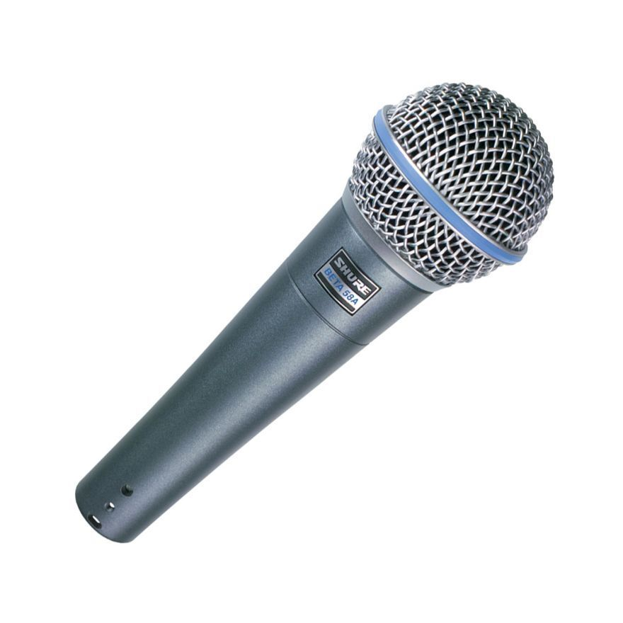 SHURE - BETA 58A - DYNAMIC MICROPHONE