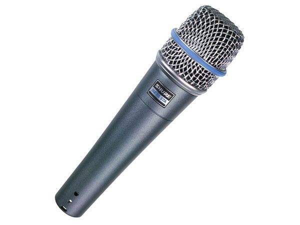 SHURE - BETA 57A - DYNAMIC MICROPHONE
