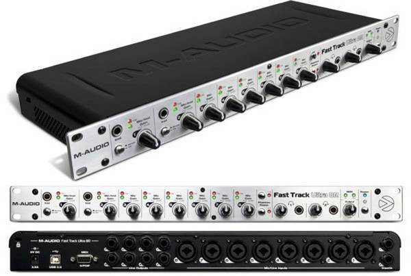 M-AUDIO - FAST TRACK ULTRA 8R - INTERFACE
