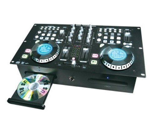 US BLASTER - USB 7337 - DOUBLE CD + DJ Mixer