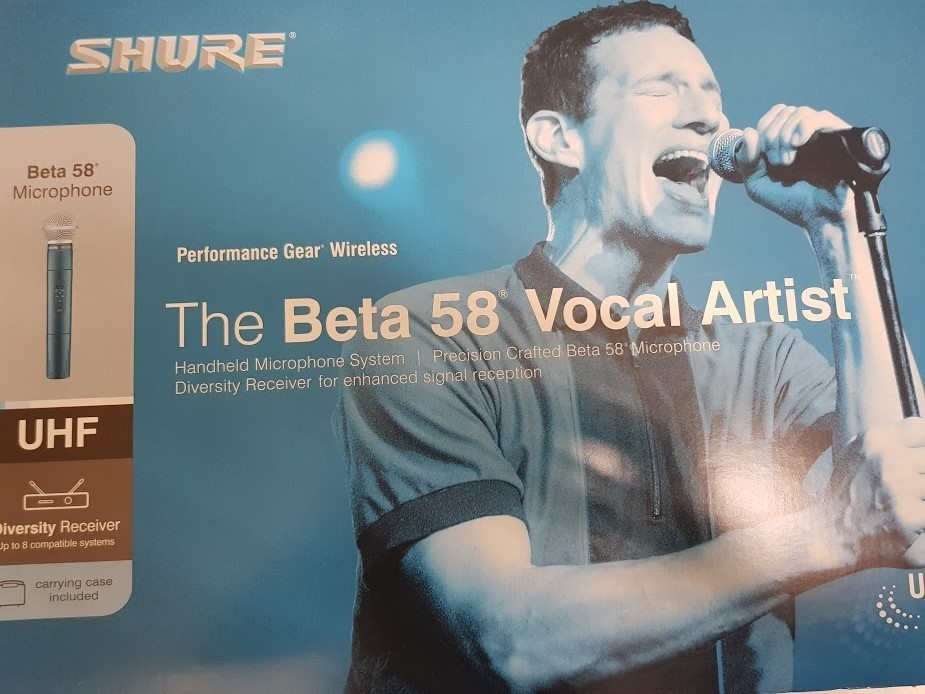 SHURE - EUT24/B58  BETA58 WIRELESS MICROPHONE