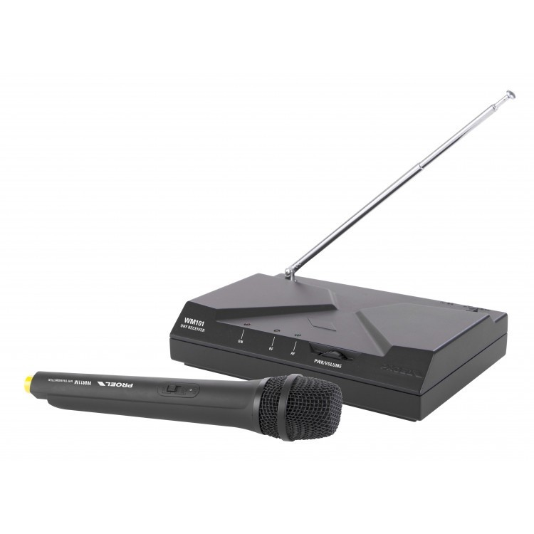 PROEL - WM101M - UHF WIRELESS HAND MICROPHONE