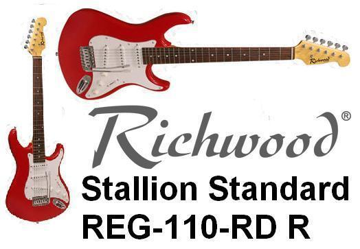 RICHWOOD - REG-110-RD - RED ELECTRIC GUITAR