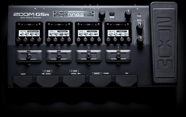 ZOOM - G5N - GUITAR MULTI-EFFECTS PROCESSOR