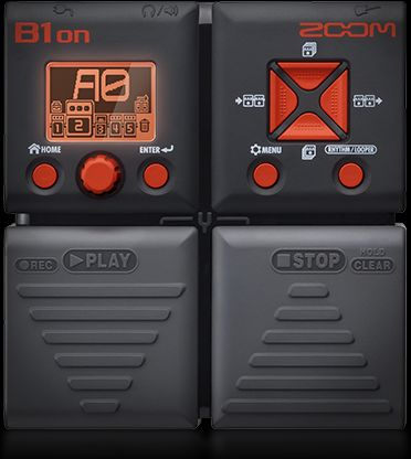 ZOOM - B1ON - BASS MULTI-EFFECTS PEDAL