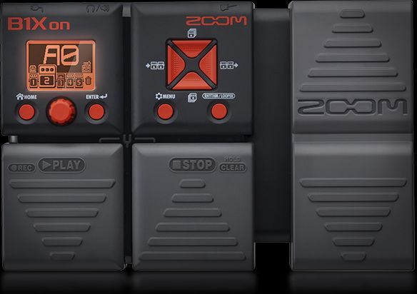 ZOOM - B1XON - BASS MULTI-EFFECTS PEDAL