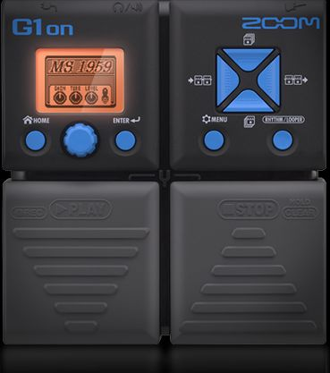 ZOOM - G1ON - GUITAR MULTI-EFFECTS PEDAL
