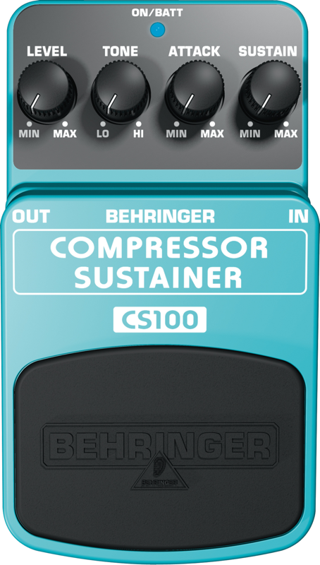 BEHRINGER - CS100 - COMPRESSOR / SUSTAINER