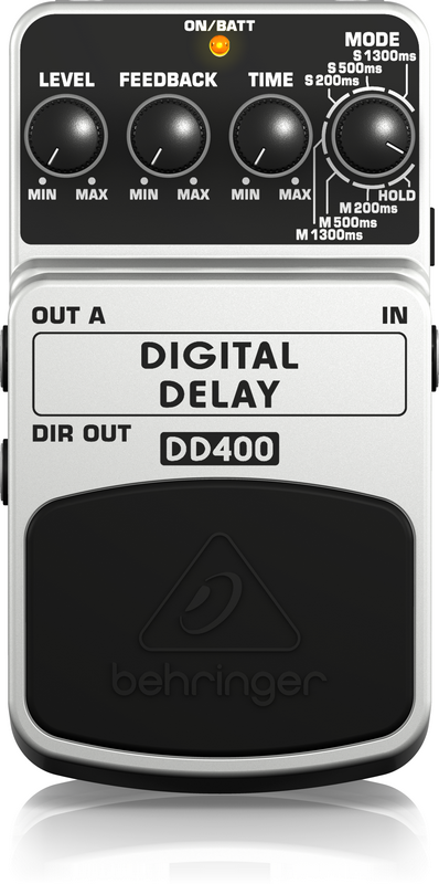 BEHRINGER - DD400 - DIGITAL DELAY EFFECT