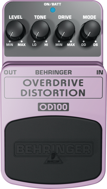 BEHRINGER - OD100 - DISTORSION / OVERDRIVE