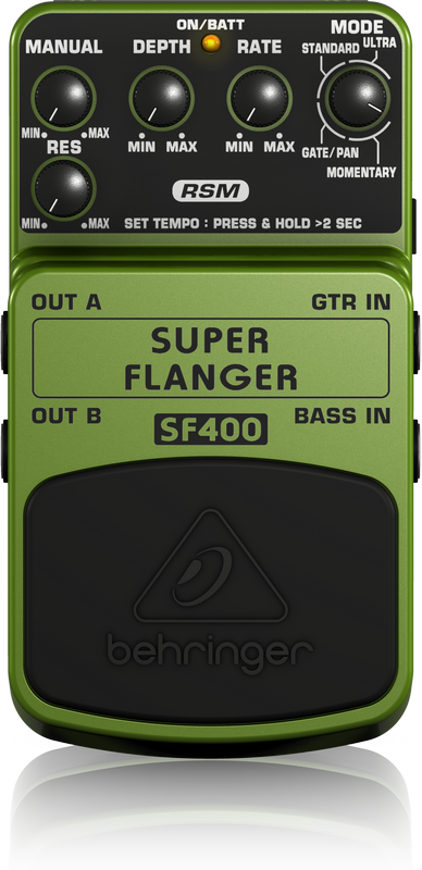 BEHRINGER - SF400 - SUPER FLANGER EFFECTS