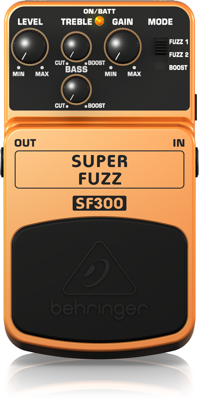 BEHRINGER - SF300 - SUPER FUZZ EFFECTS