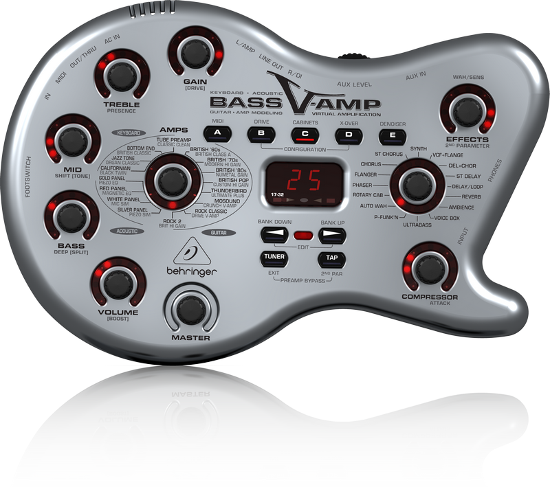 BEHRINGER - BASS V-AMP -MULTI-EFFECTS FOR ALL