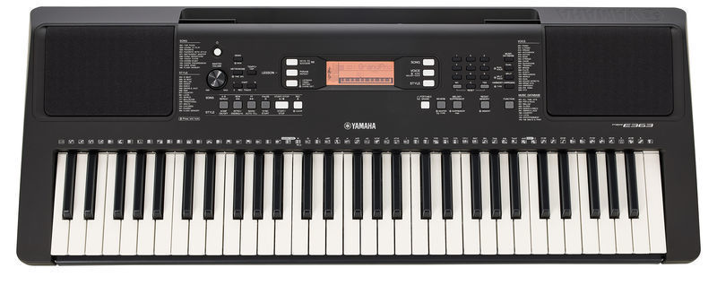 yamaha psr e363 tastiera elettronica hardsoft products. Black Bedroom Furniture Sets. Home Design Ideas