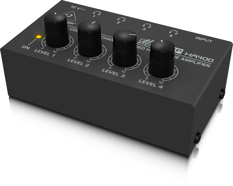 BEHRINGER - HA400 - 4 HEADPHONES AMPLIFIER