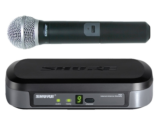 SHURE - PG24E/PG58 - UHF WIRELESS MICROPHONE