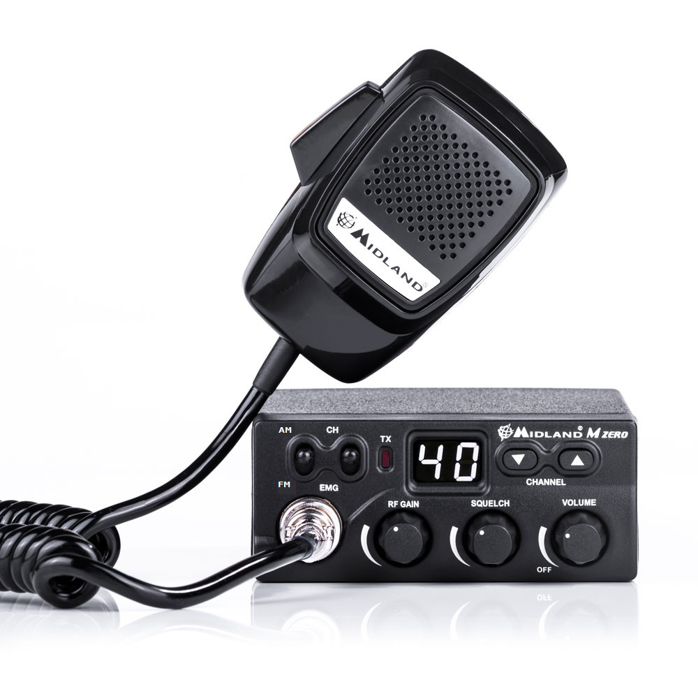 MIDLAND - M ZERO PLUS - CB 40 CHANNELS AM/FM