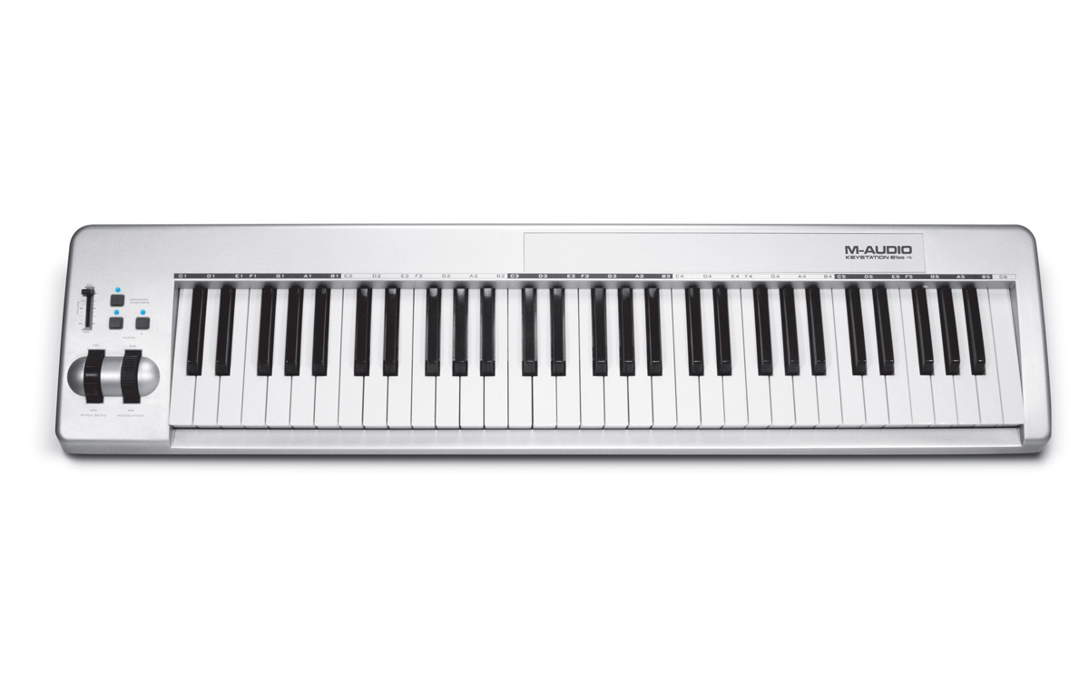 M-AUDIO - KEYSTATION 61es - MIDI CONTROLLER