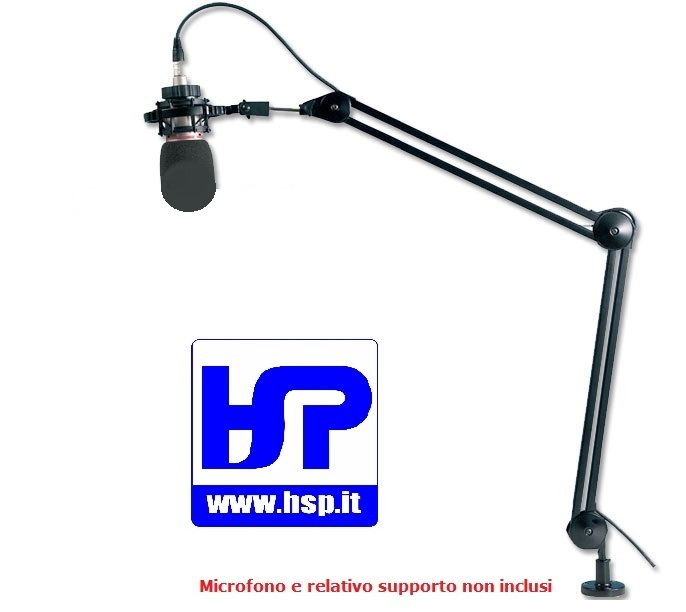 DST-270 - SWIVEL ARM MICROPHONE STAND