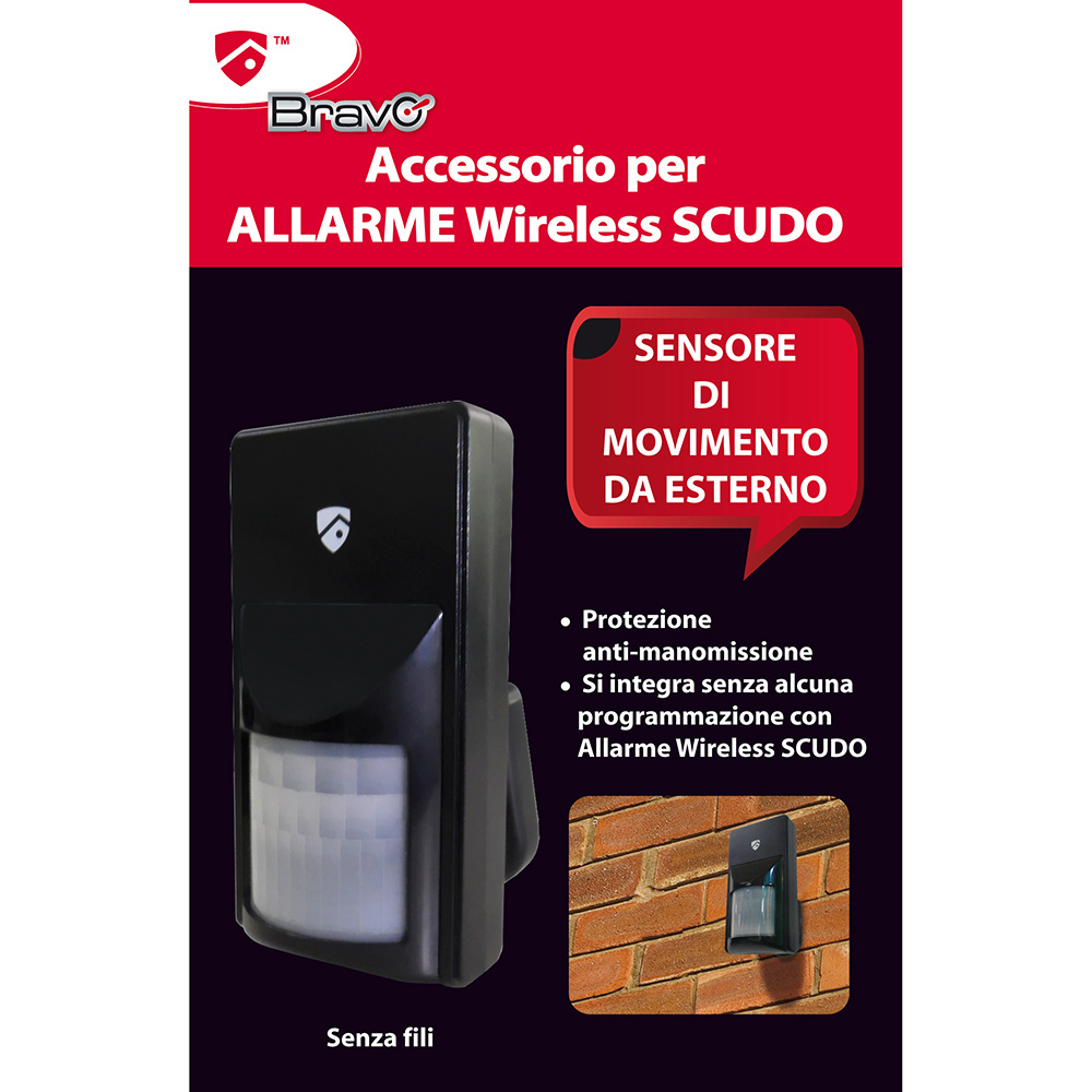 BRAVO - OUTDOOR SENSOR FOR SCUDO ALARM
