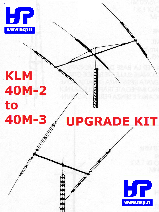 KLM - 40M2/3 - KIT UPGRADE DA 40M-2 A 40M-3