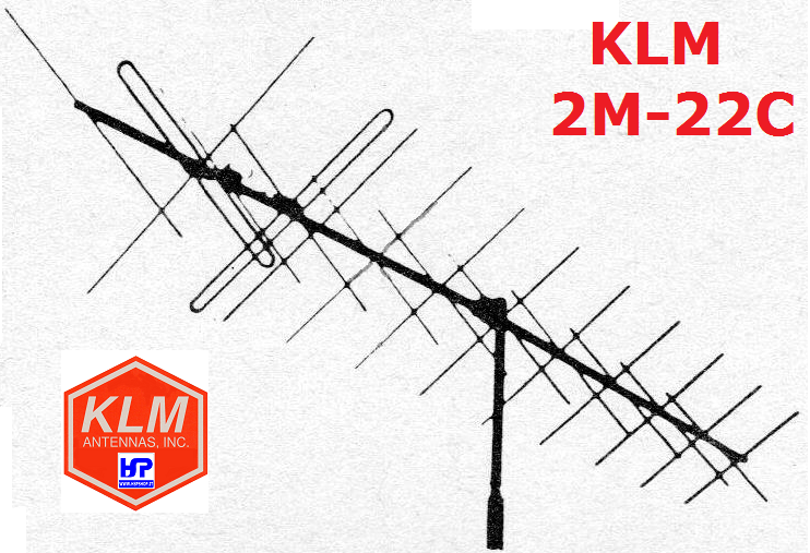 KLM - 2M-22C - 22 ELEMENTS CROSSED 144 MHz