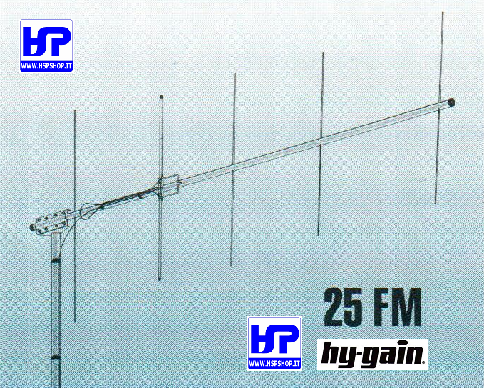 HY-GAIN - 25FM - 5 ELEMENTS YAGI VHF 144 MHz