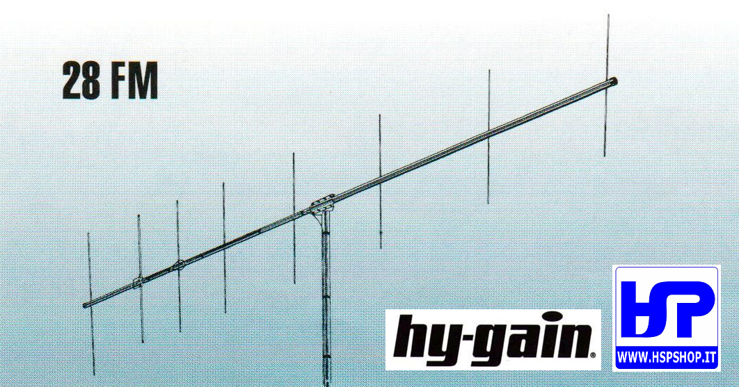 HY-GAIN - 28FM - 8 ELEMENTS YAGI VHF 144 MHz